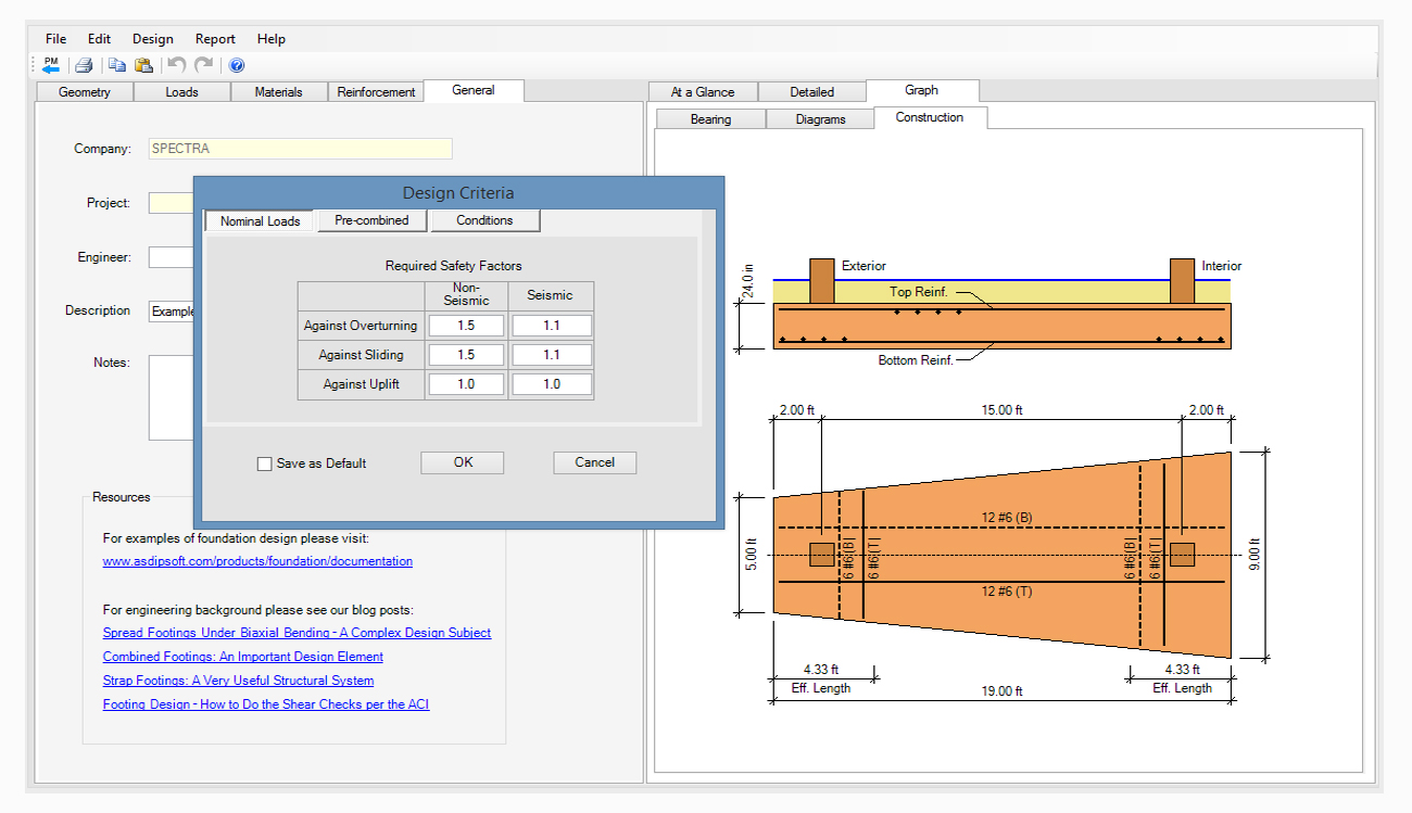 structural-engineering-software-combined-footing-design