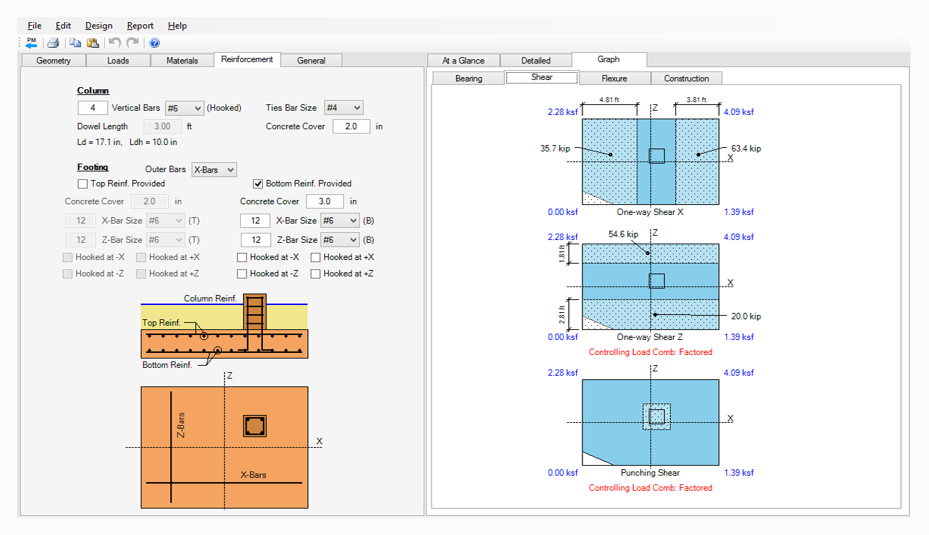 structural-engineering-software-spread-footing-design