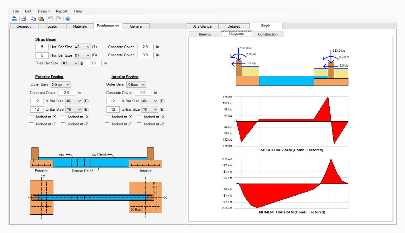 Beam And Column Design Software Footing Design Asdip