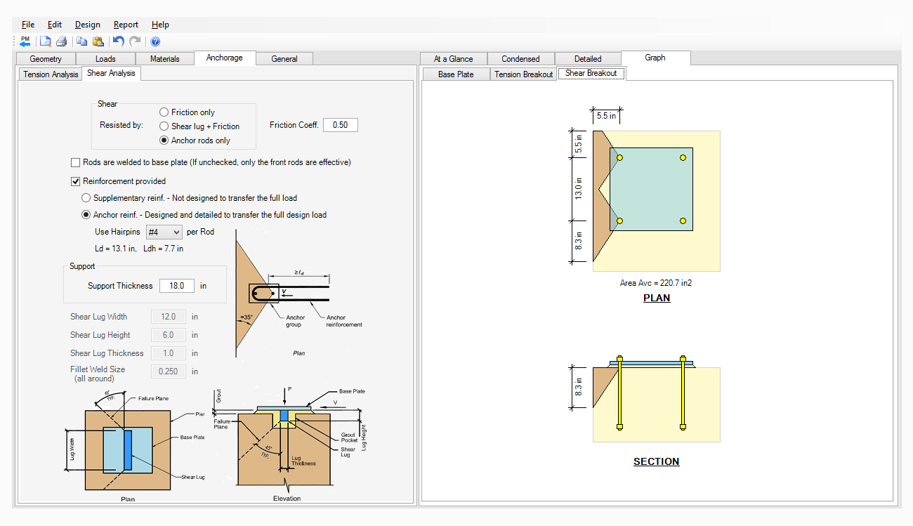 structural-engineering-software-steel-base-plate