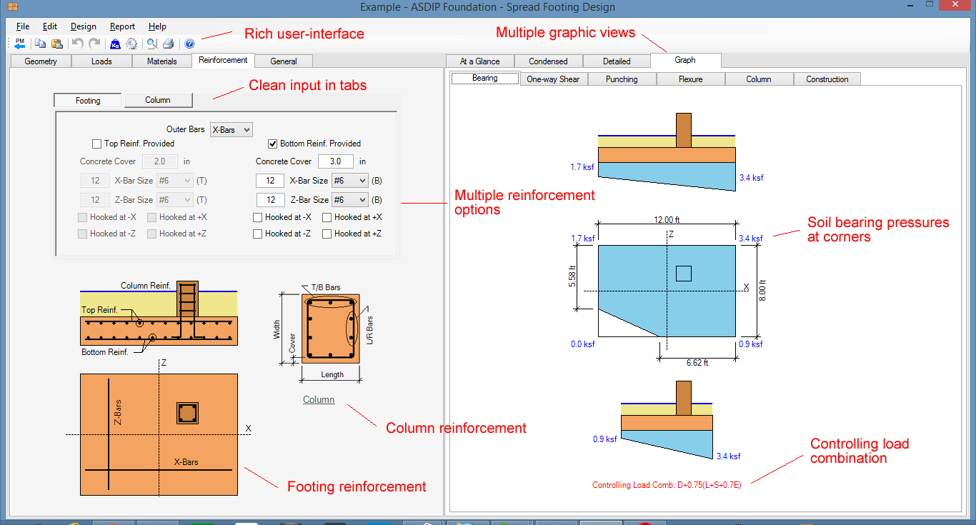 spread-footing-design-screenshot
