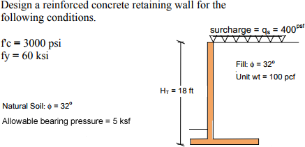 concrete-cantilever-retaining-wall-example