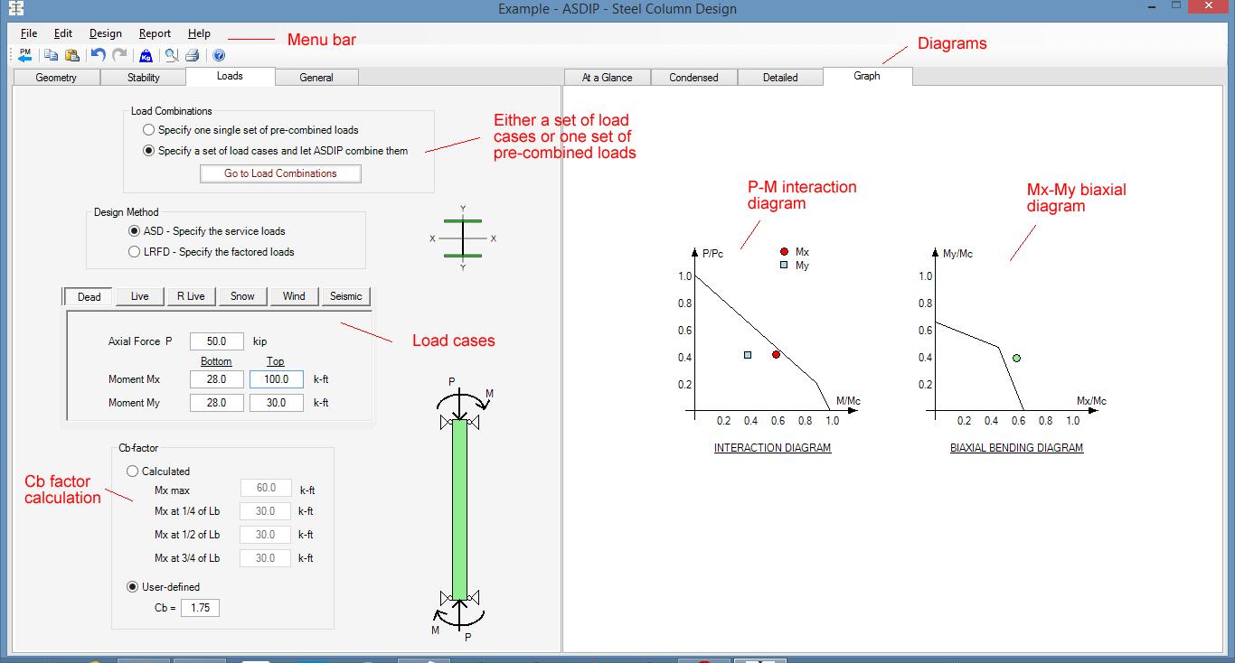 steel-column-interaction-diagram