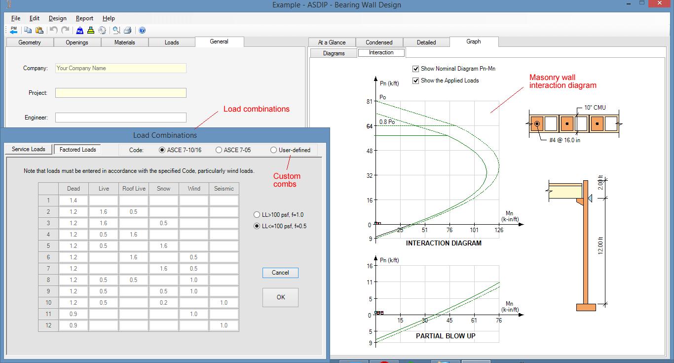 masonry-wall-interaction-diagram