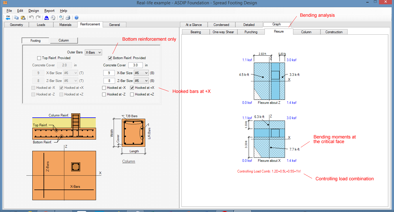 Foundation Design Software: Spread, Combined, and Strap Footings