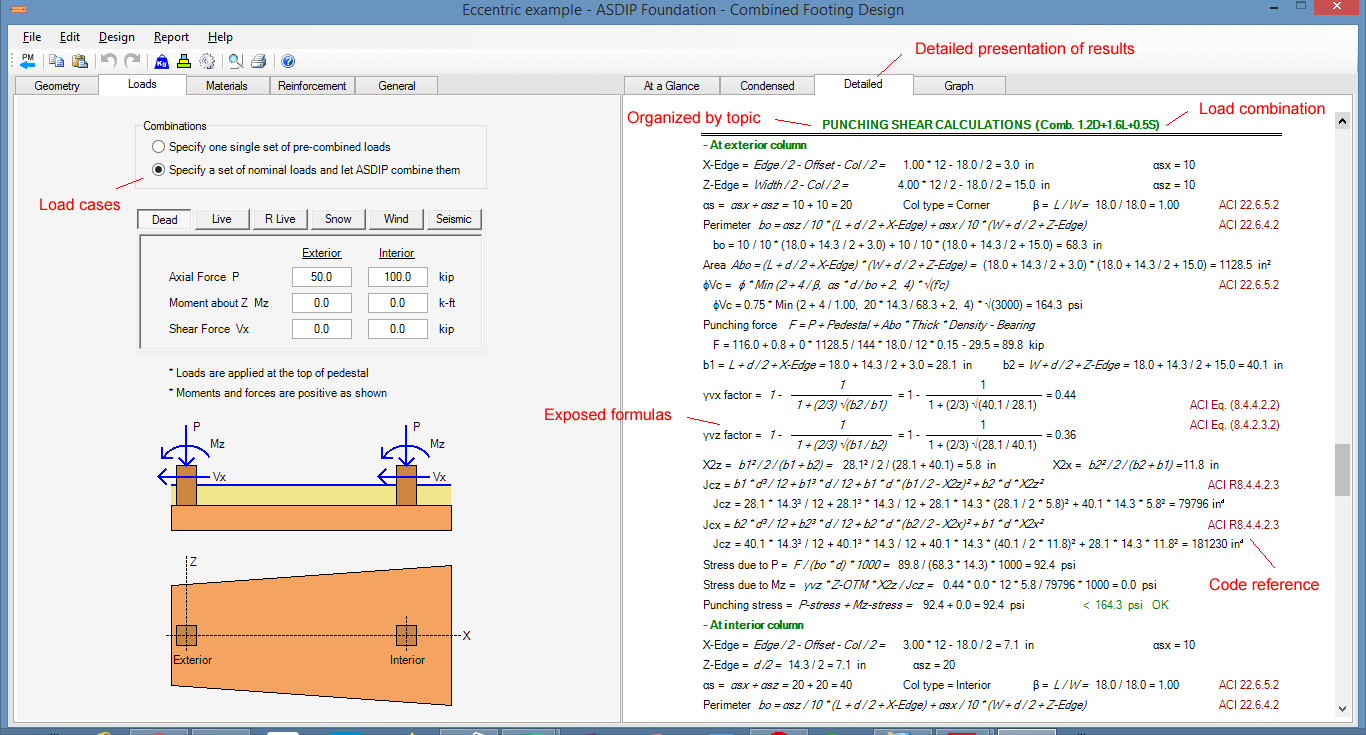combined-footing-detailed-results