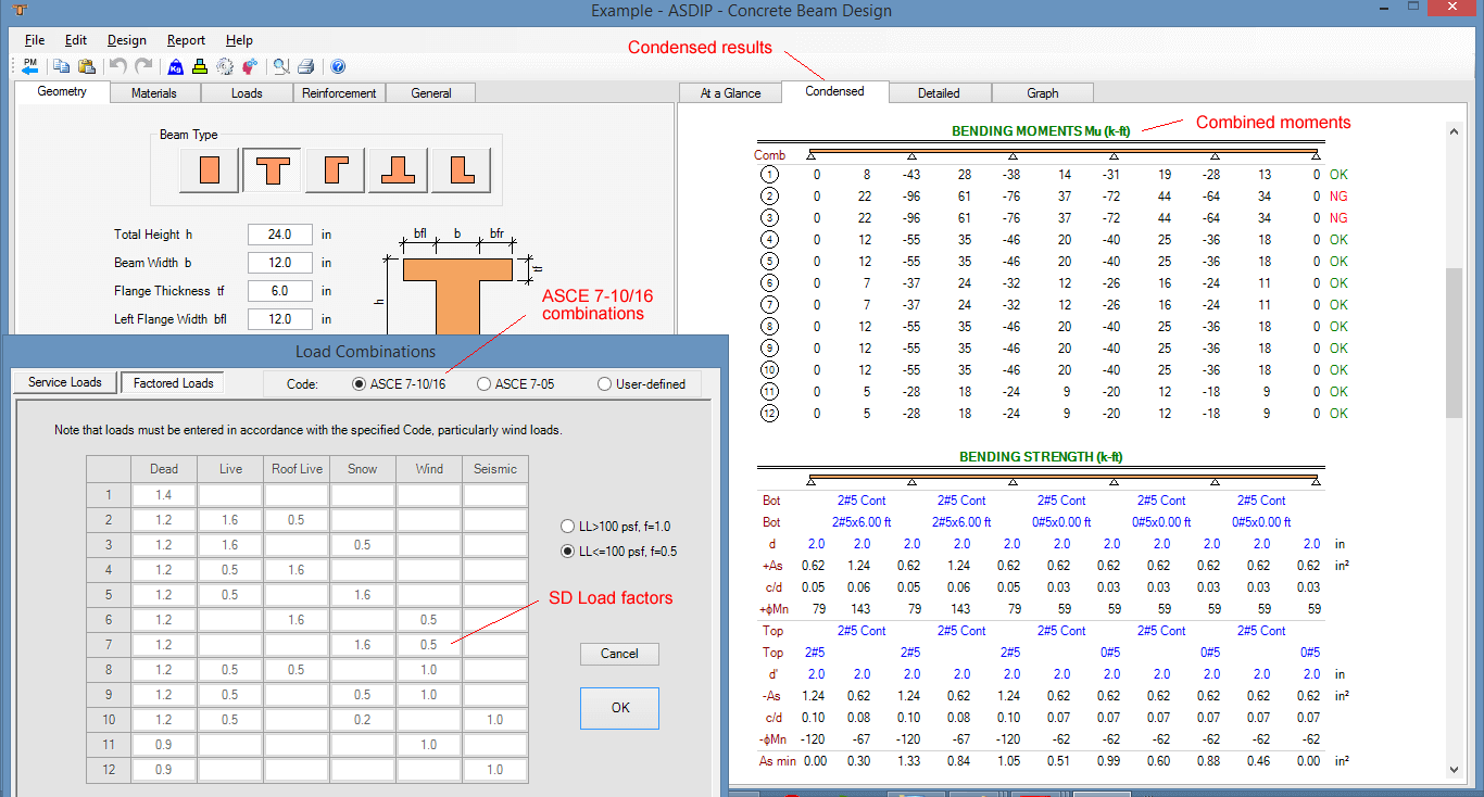 asce-7-load-combinations