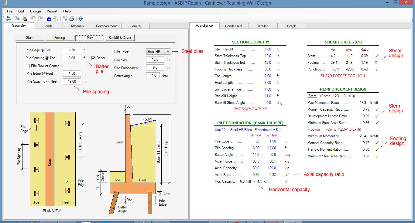 retaining-wall-summary-of-results
