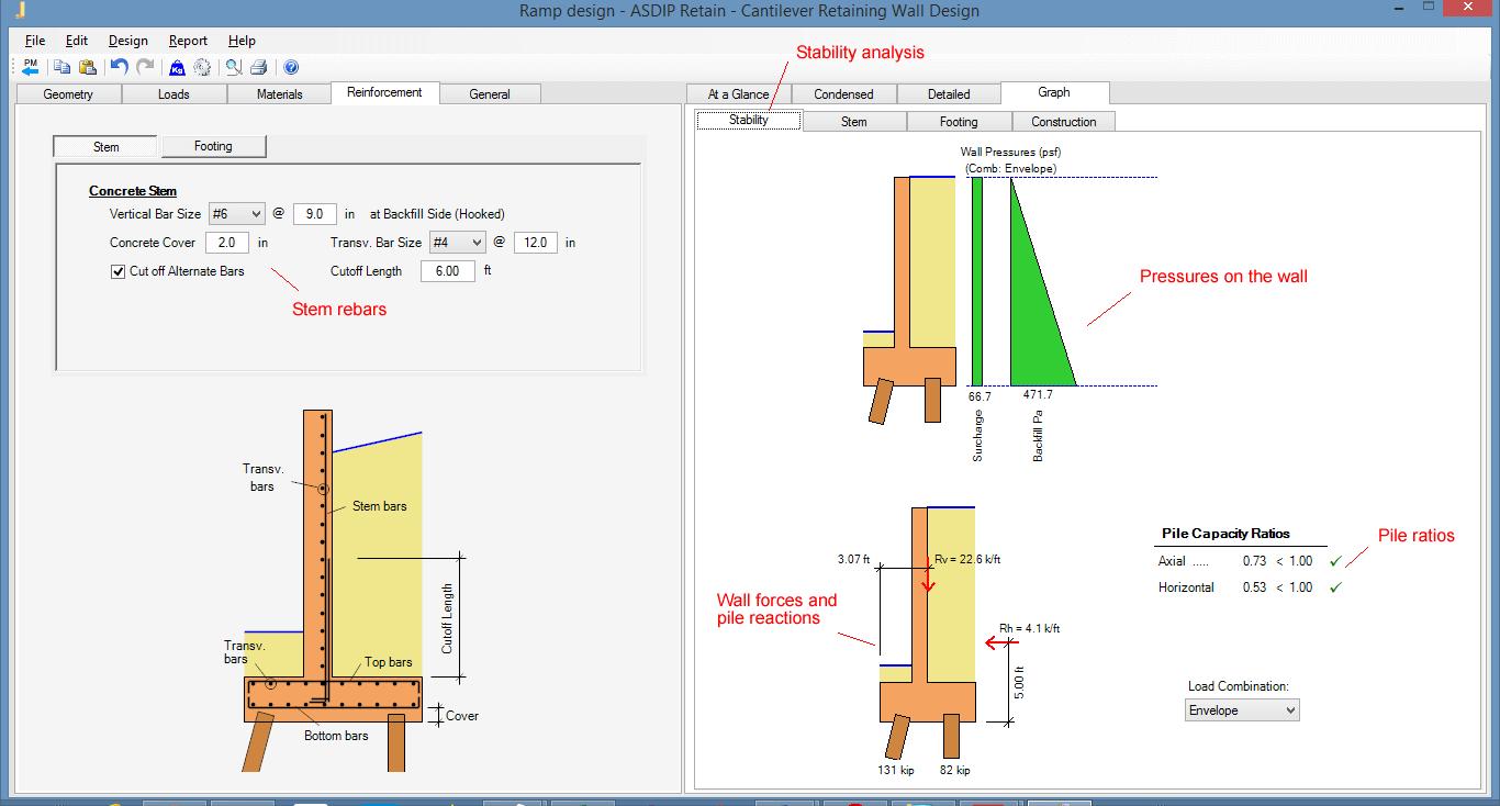 retaining-wall-stability-analysis