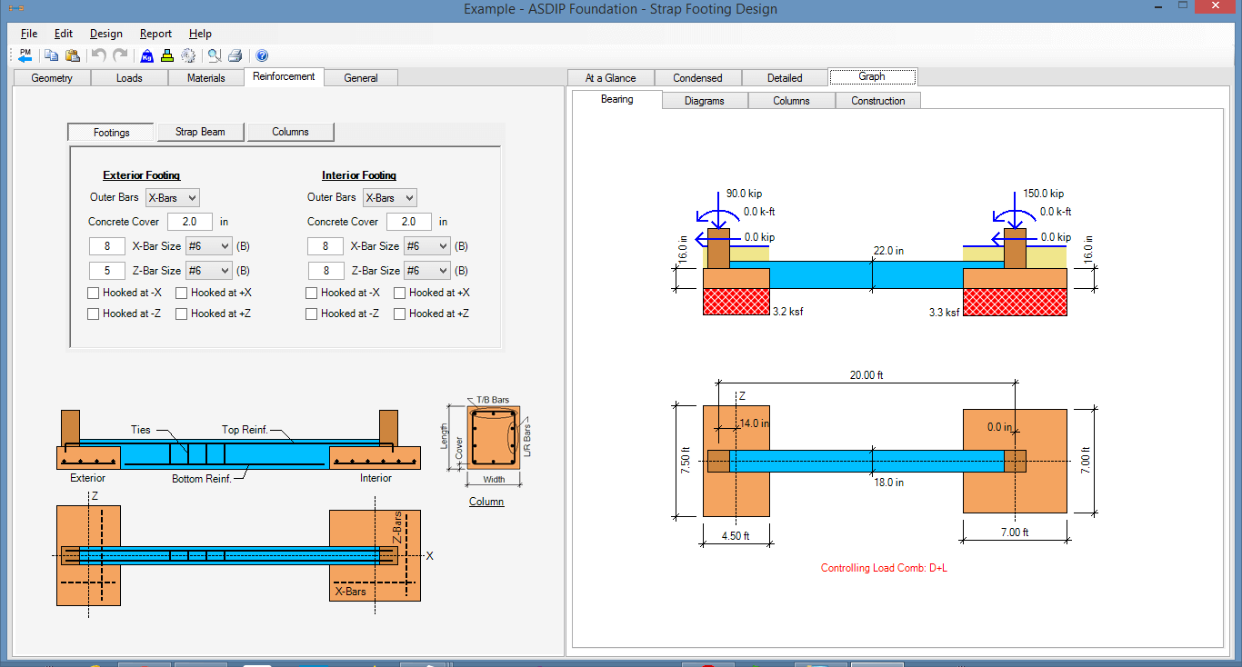 strap-footing-bearing-diagram