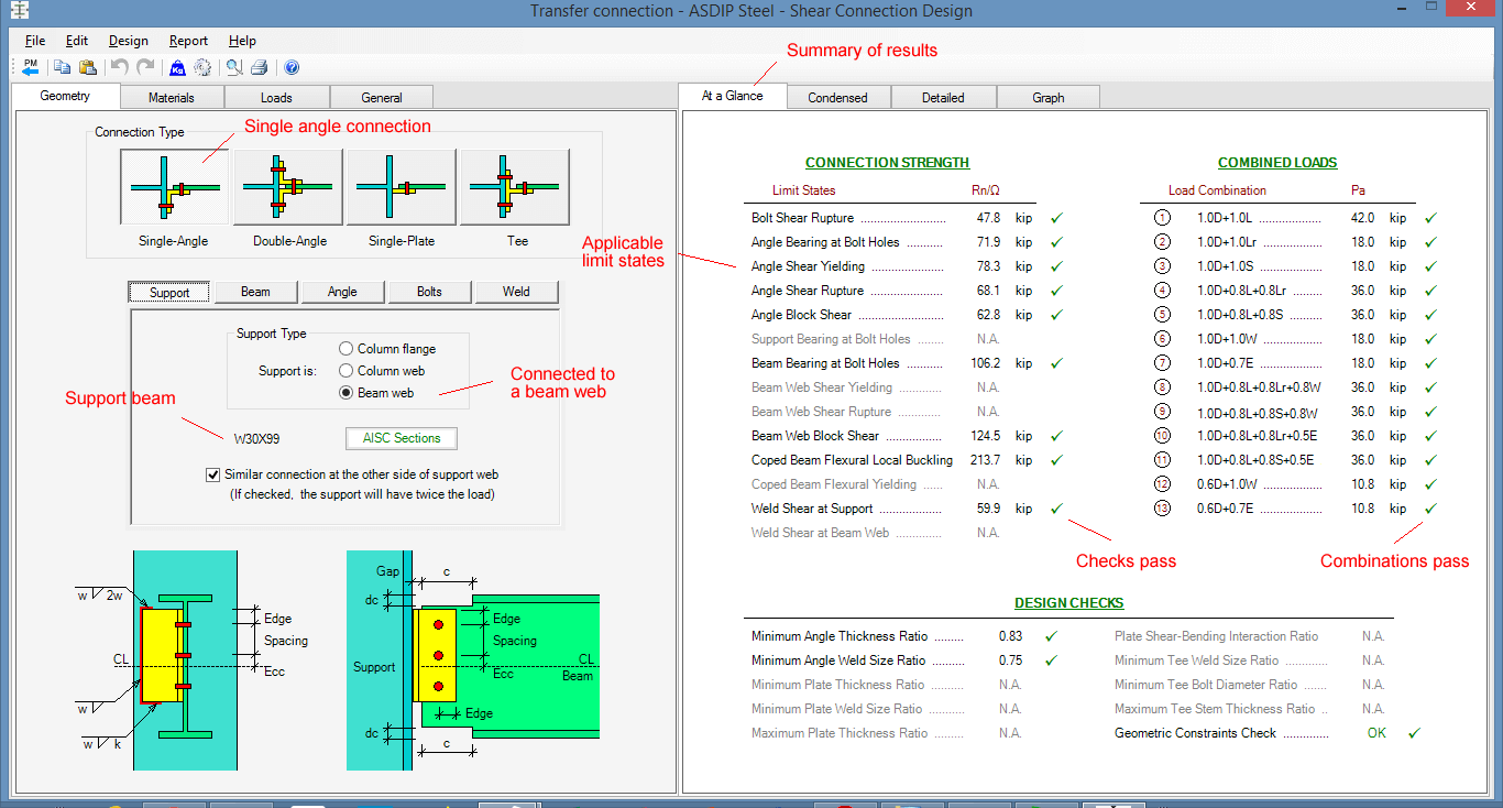 transfer-girder-summary-of-results