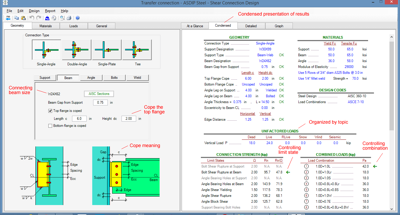 transfer-girder-connection-condensed-results
